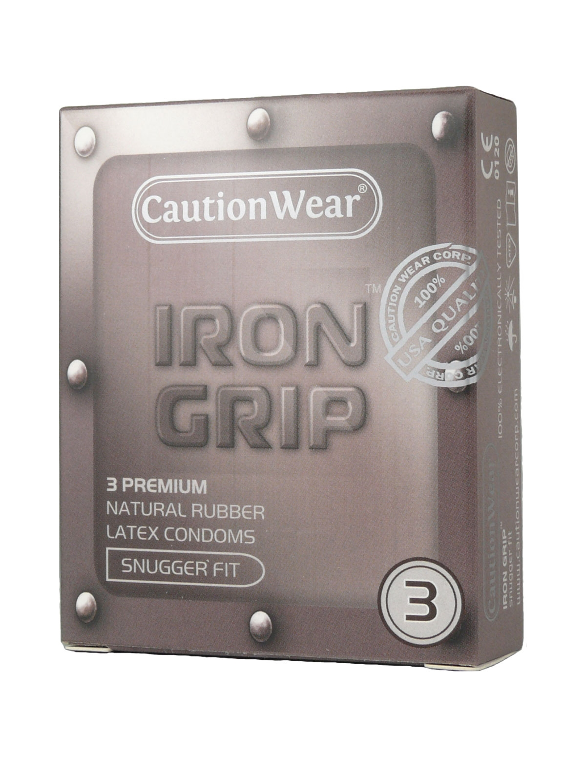 Iron Grip Condom 3 Pack