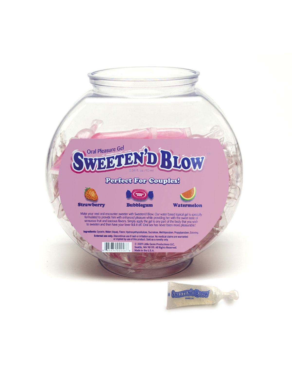 Sweeten D Blow Pillow Pack