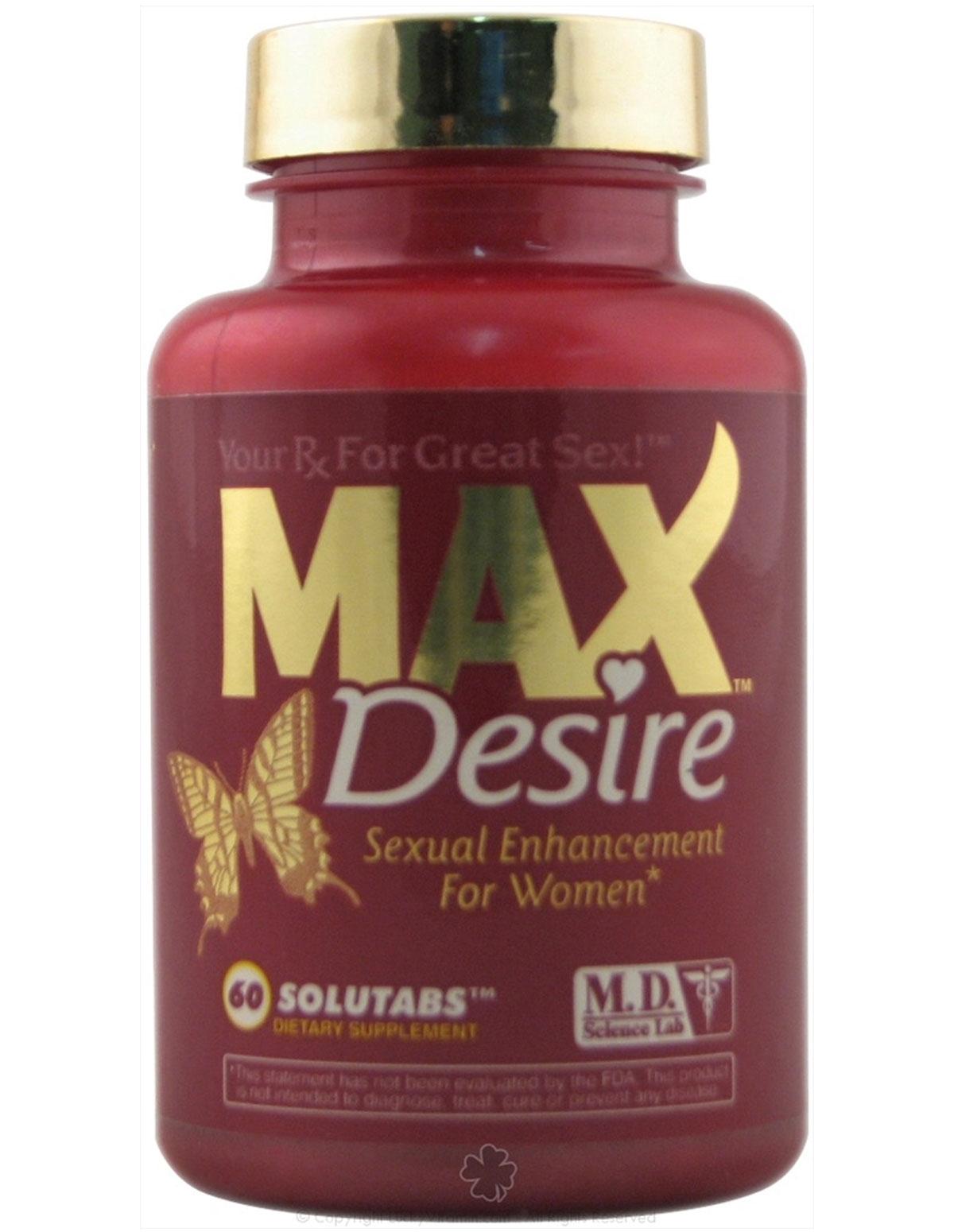 Max Desire Pills For Women 60 Ct