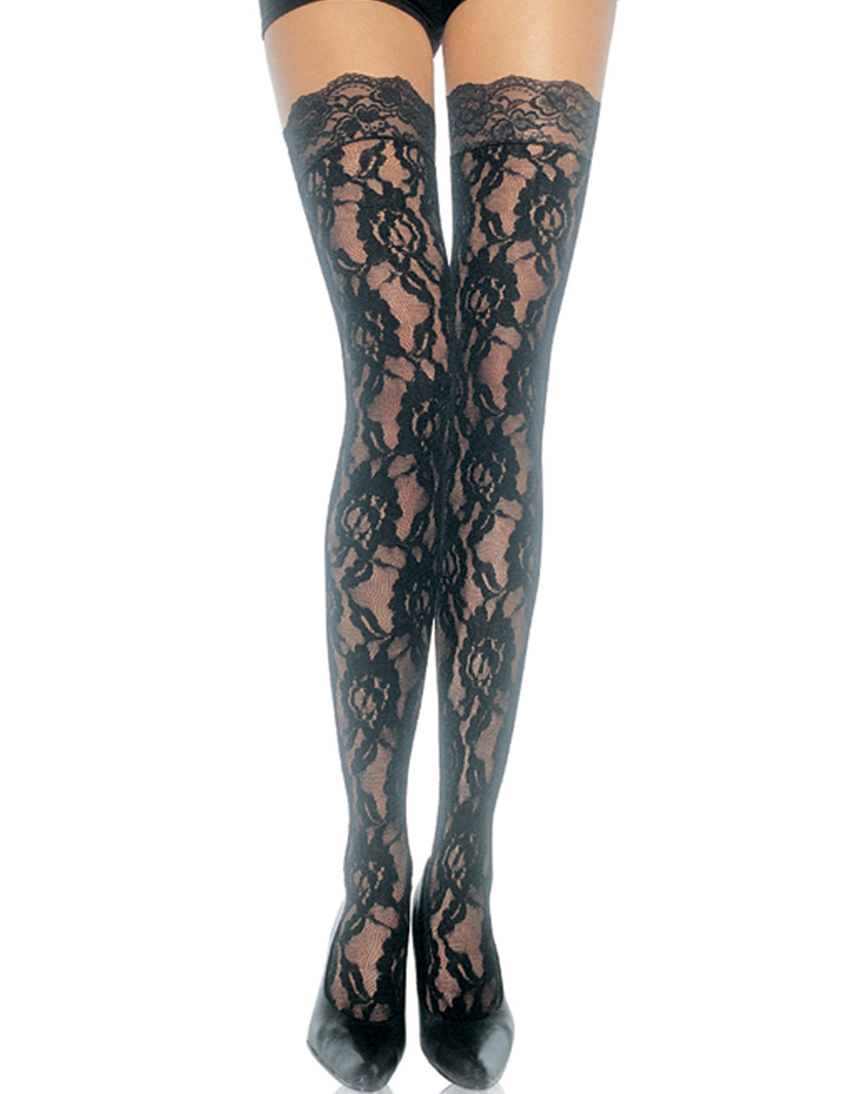 Rose Lace Stockings