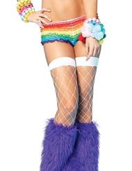 Alternate front view of FENCE NET THIGH HIGH