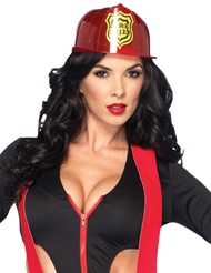 Alternate front view of FIREMAN HAT