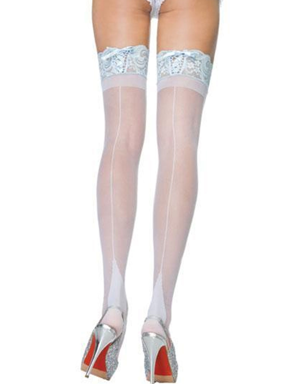 Corset Lace Top Thigh High