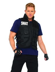 Alternate front view of SWAT COMMANDER COSTUME