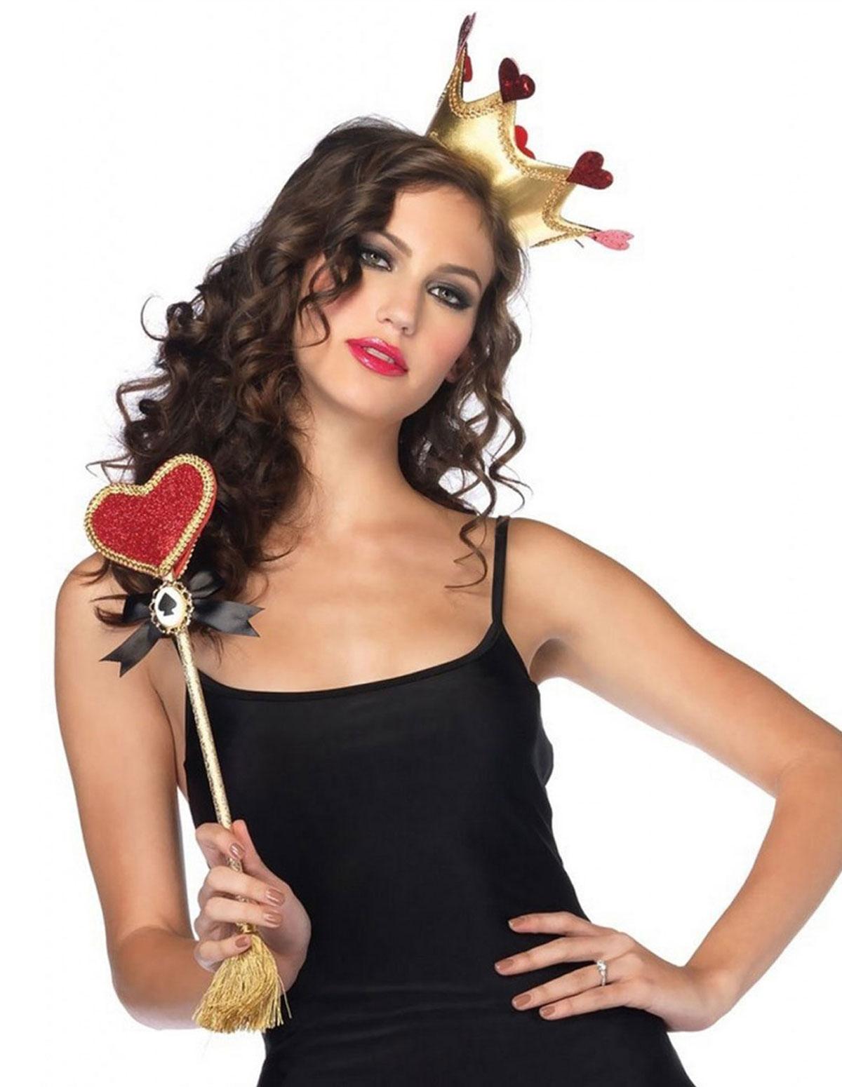 Queen Of Hearts Costume Kit