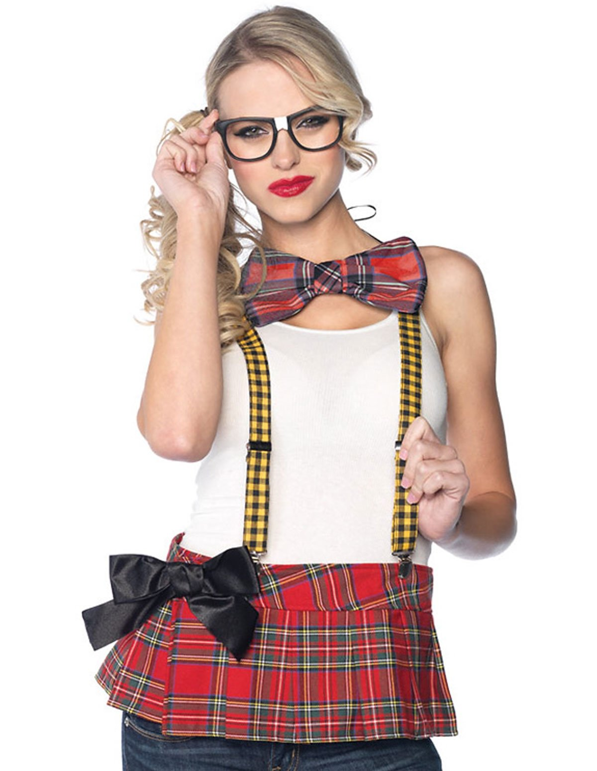 3Pc Nerd Costume Kit