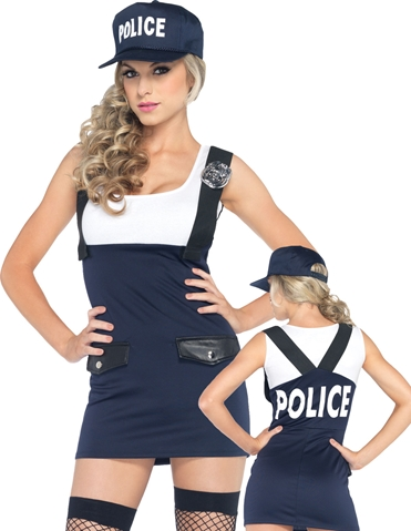 2PC ARRESTING OFFICER COSTUME