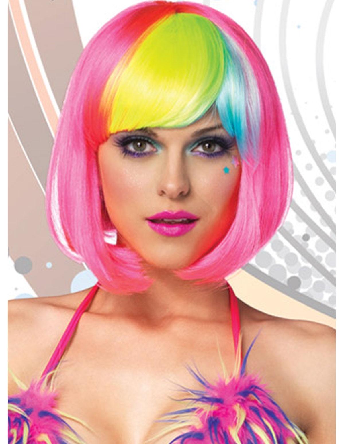 Rainbow Bang Wig