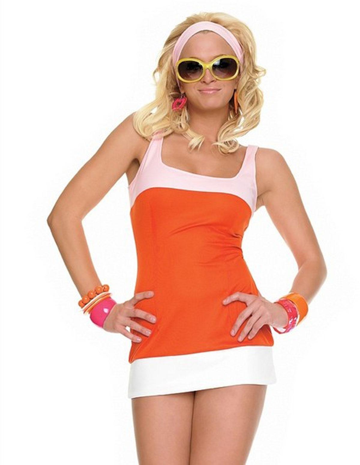 2Pc Mod Girl Costume
