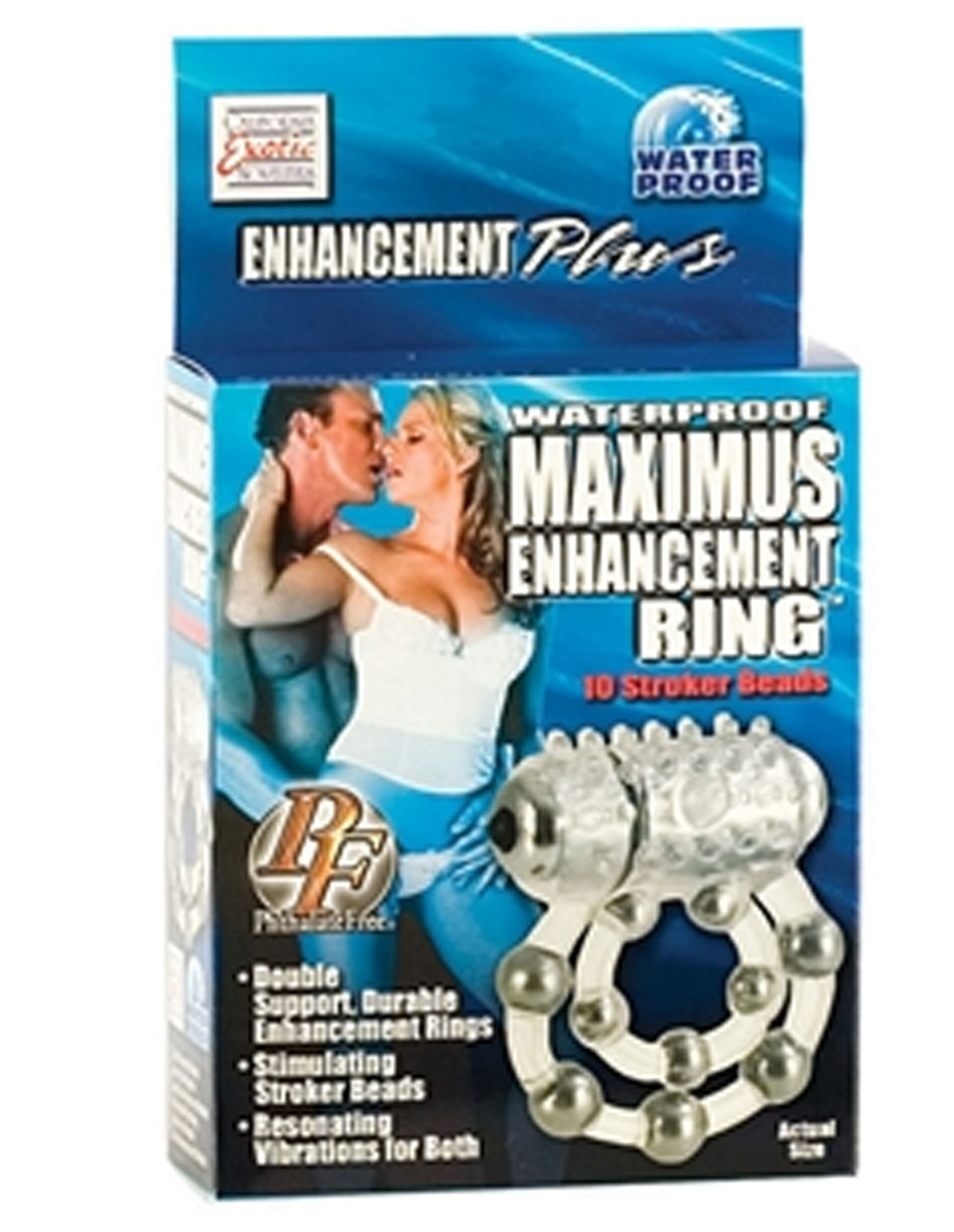 Maximus Enhancement Ring Couples Ring