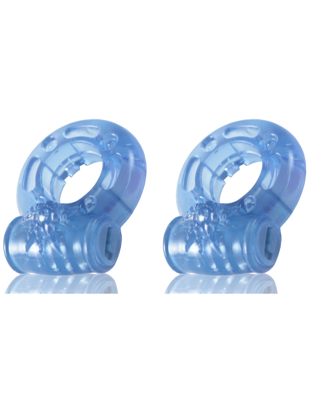 Stay Hard Vibrating Cock Rings 2-Pack