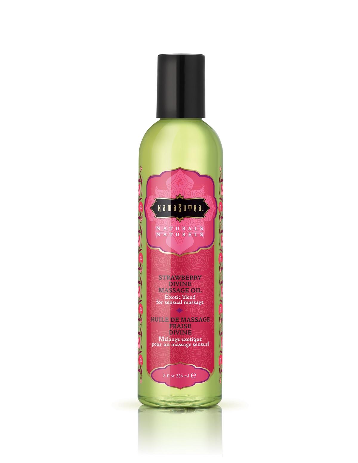 Strawberry Divine Massage Oil