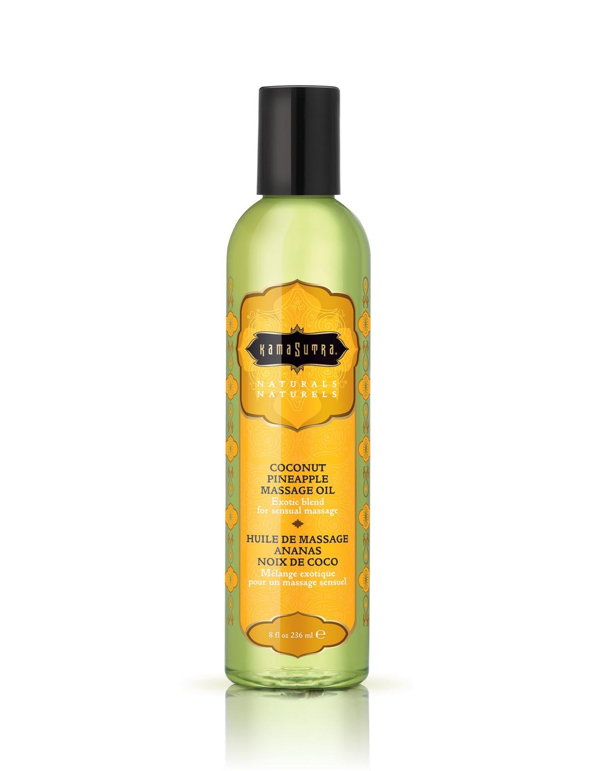 Naturals Coconut Pineapple Massage Oil
