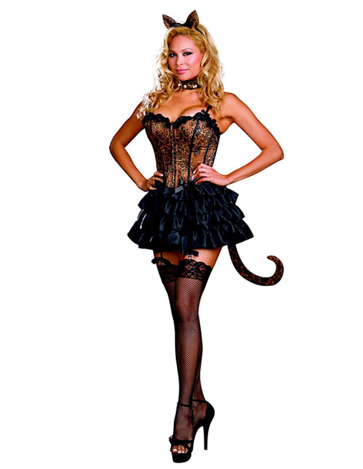 Bonjour Kitty Costume - Plus