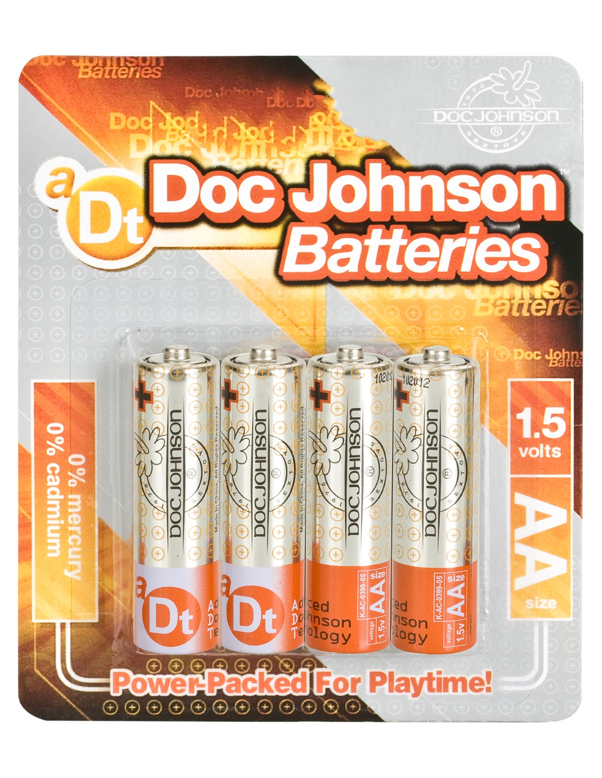 Doc Johnson Batteries Aa 4-Pack