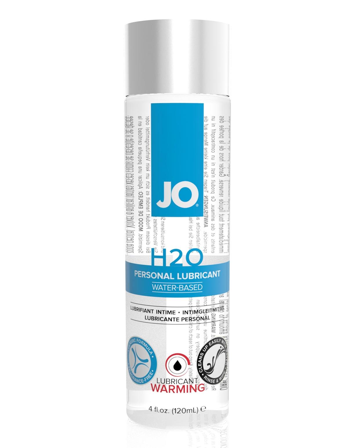 Jo H2o Warming Lubricant 4.5 Oz