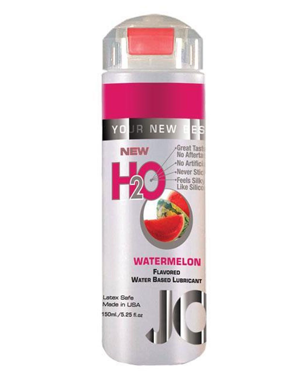 H2o Flavored Lubricant - Watermelon 5.25 Oz