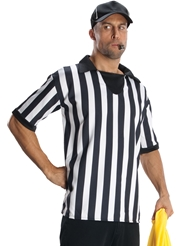 Alternate front view of 4PC REFEREE COSTUME