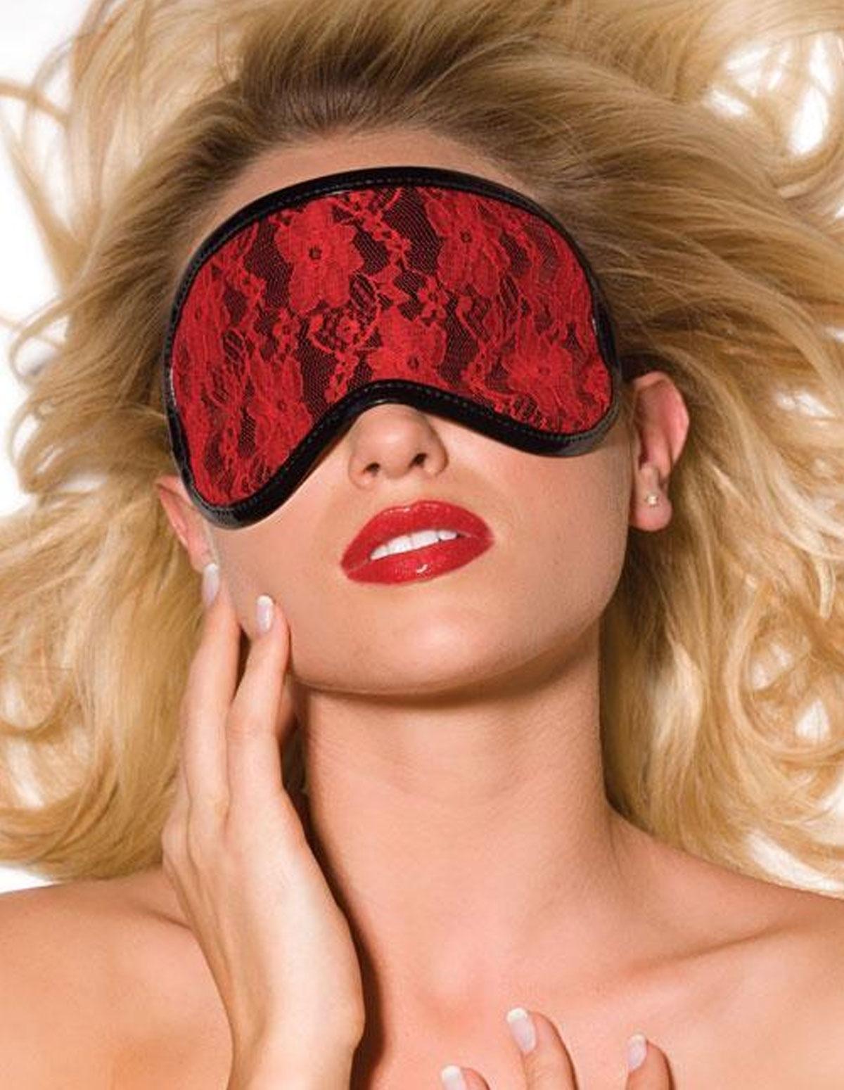 Vinyl & Lace Blindfold