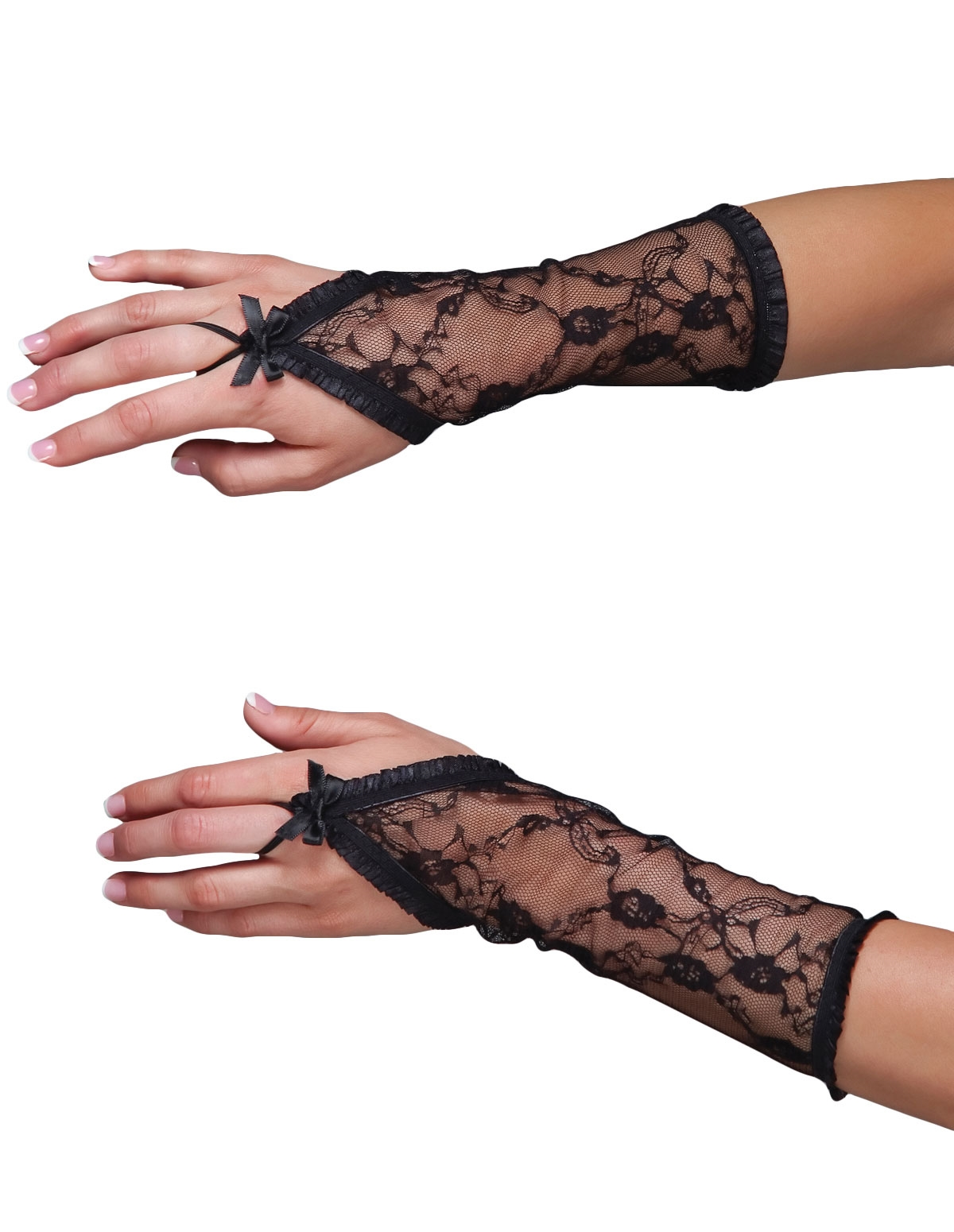 Lace Fingerless Gloves