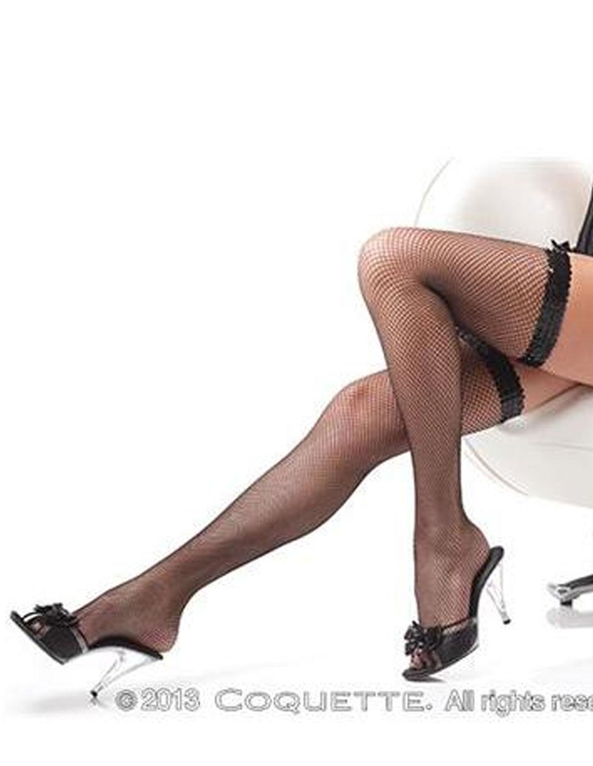 Sequin Top Stockings
