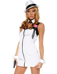 MISS MOB GANGSTER COSTUME