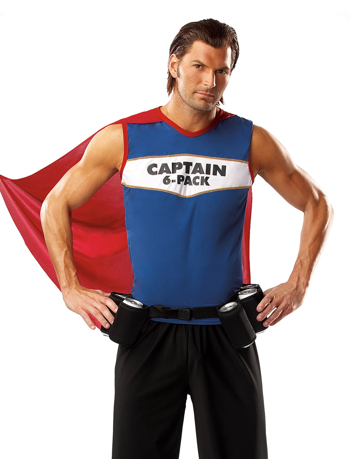 Captain Six Pack Costume