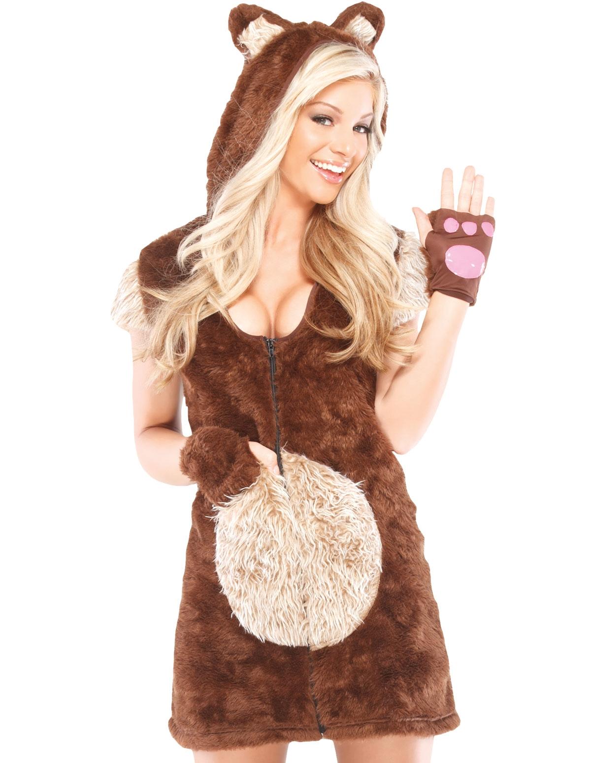 Teddy Bear Girl Costume