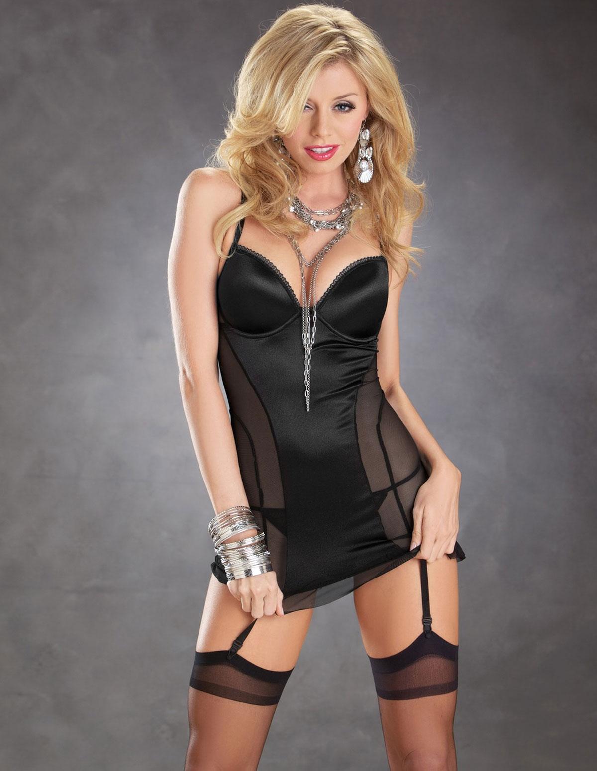 Bustier Dress W/Heart