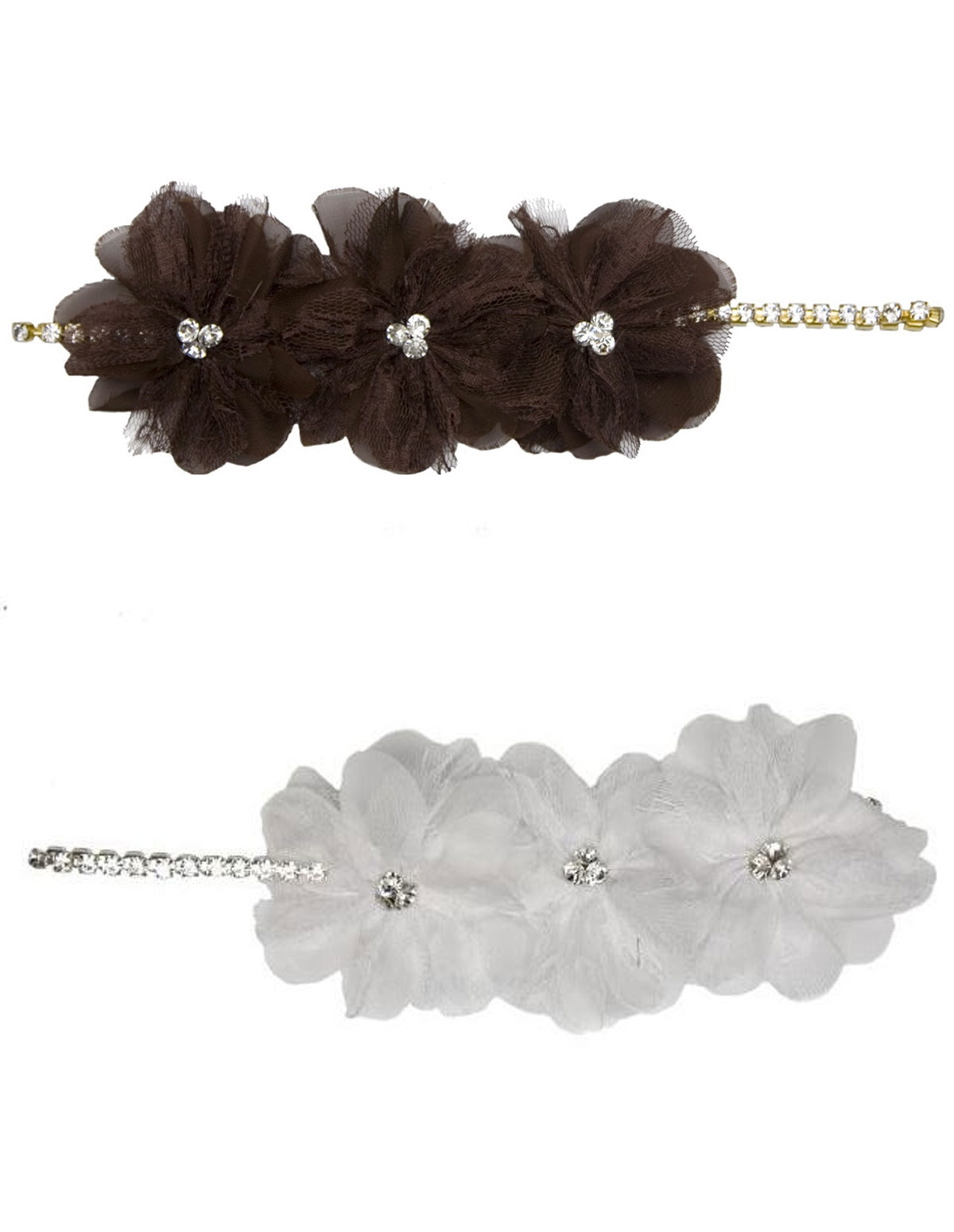 Chain Headpiece With Flower