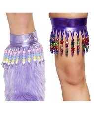BEADED BOOT TOPPERS