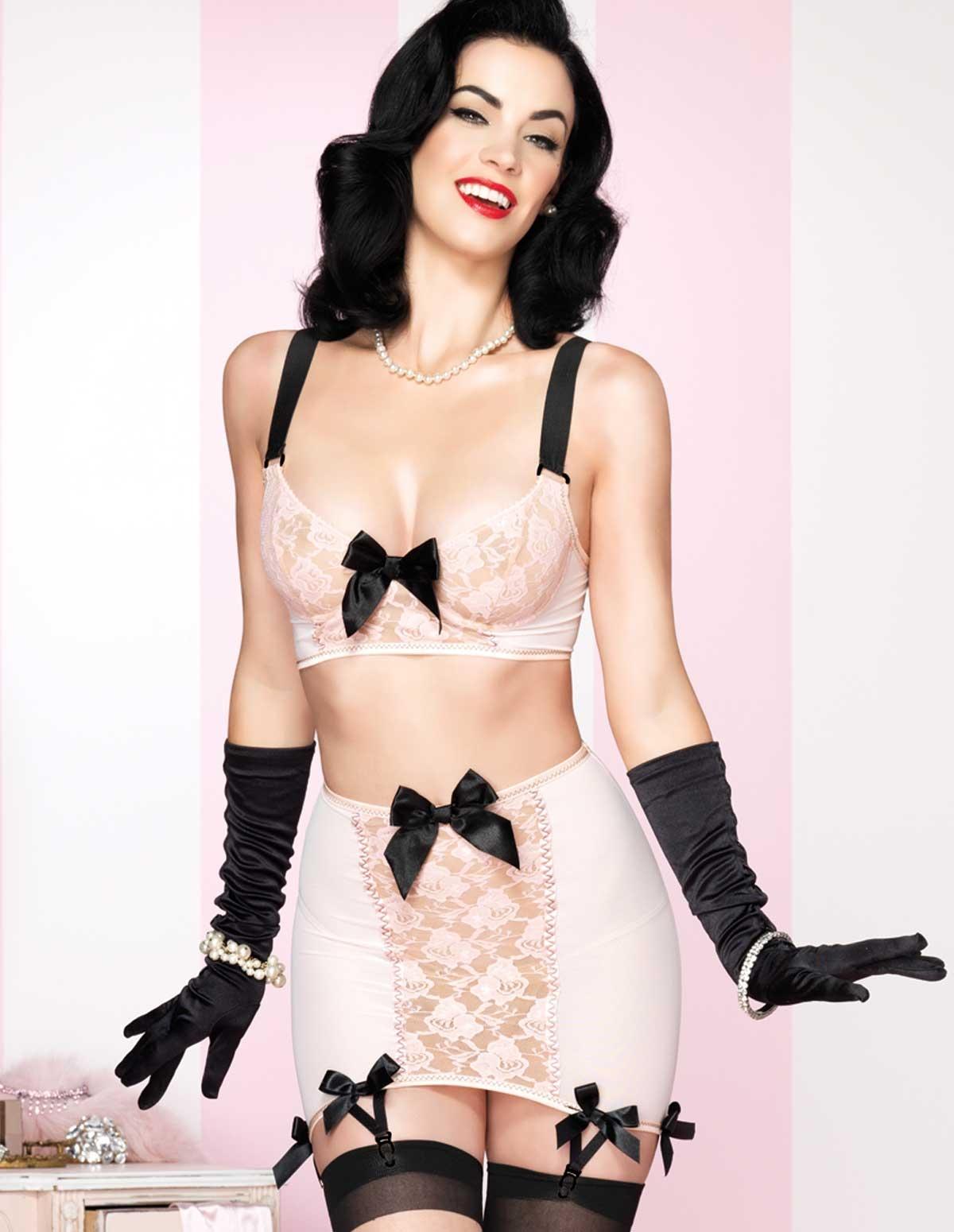 Retro Femme Skirt Set