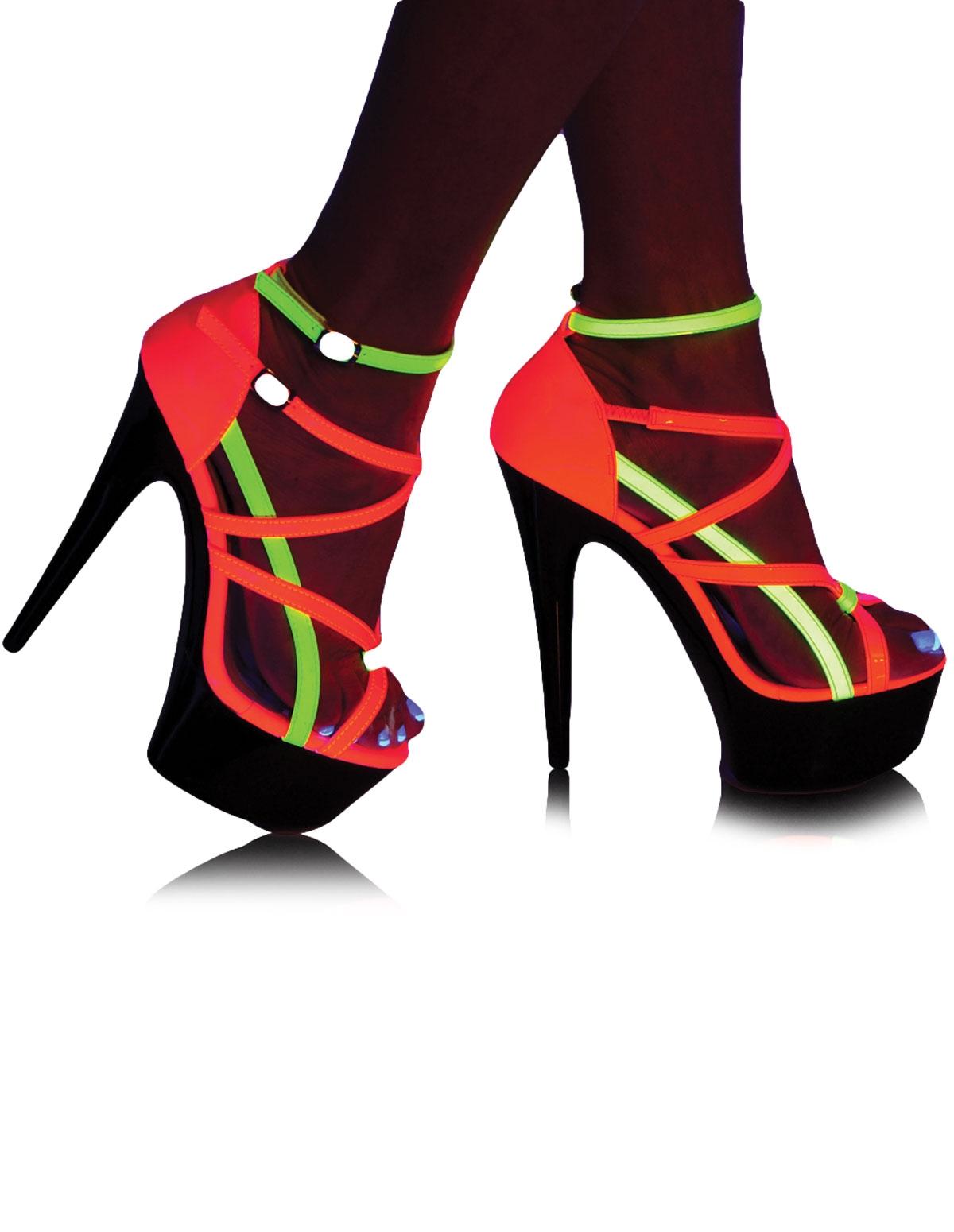Neon Fantasy Platform Heel