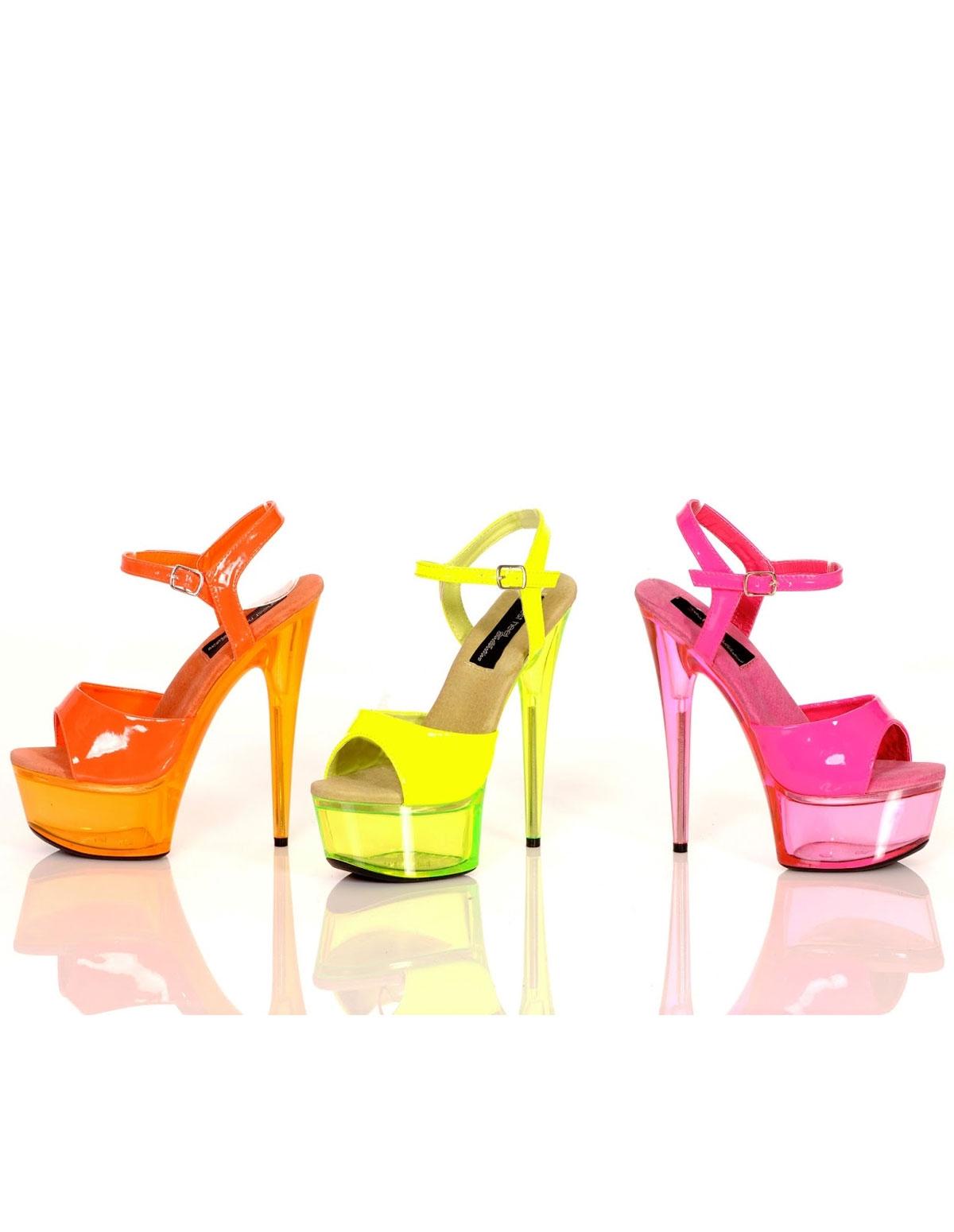 Neon Love Platform Shoe