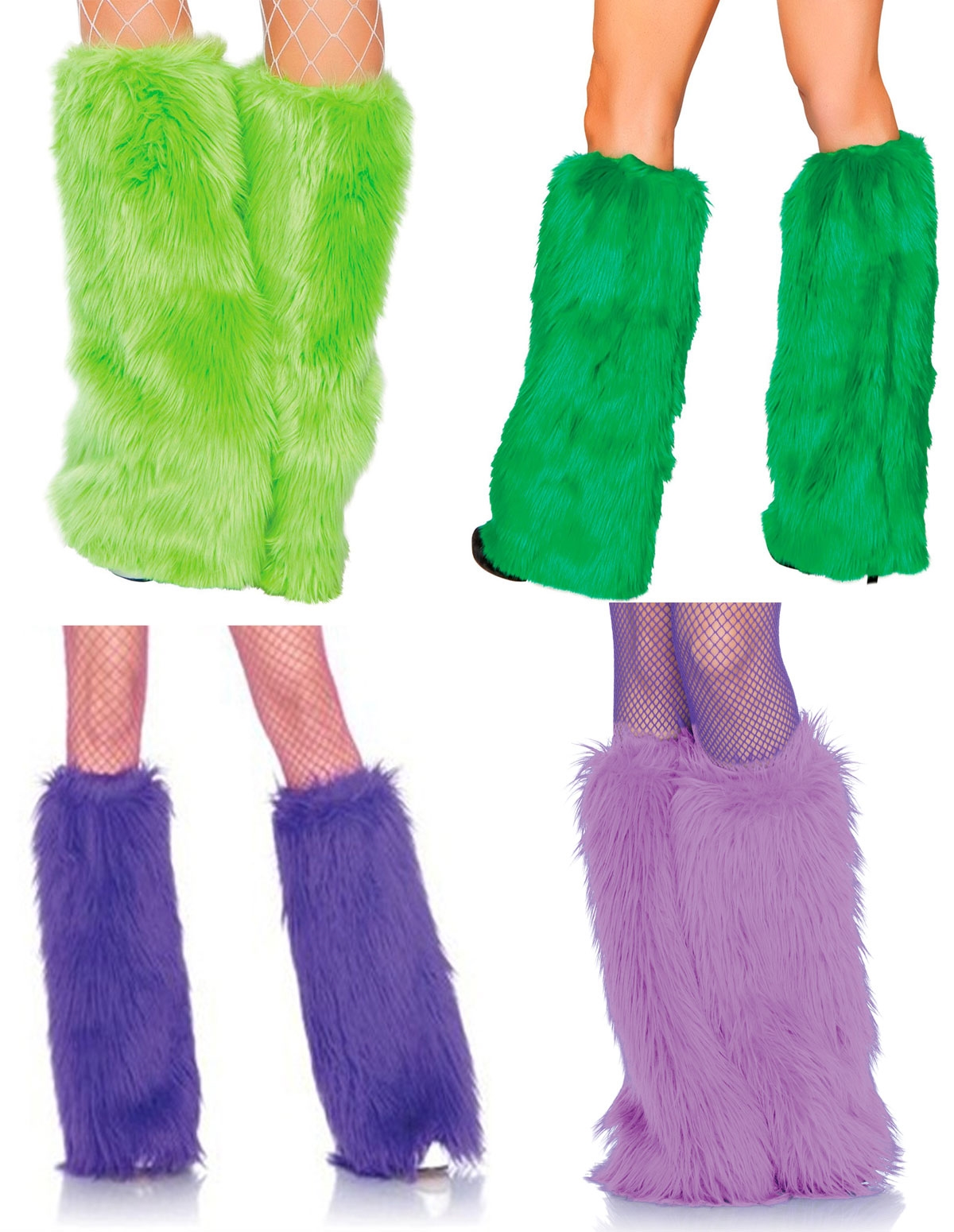 Fur Leg Warmers
