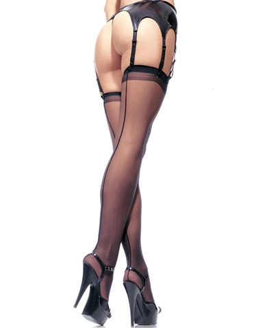 SHEER BACKSEAM STOCKINGS