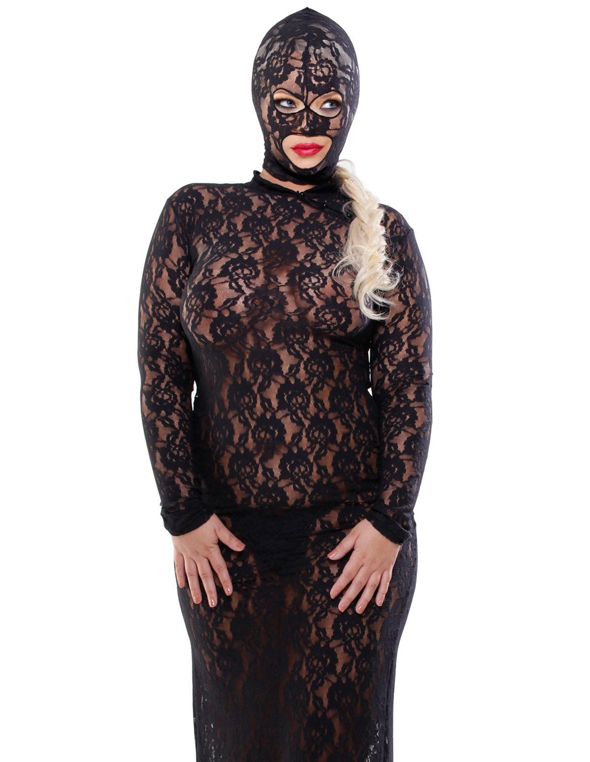 Lace Disgrace Gown - Plus