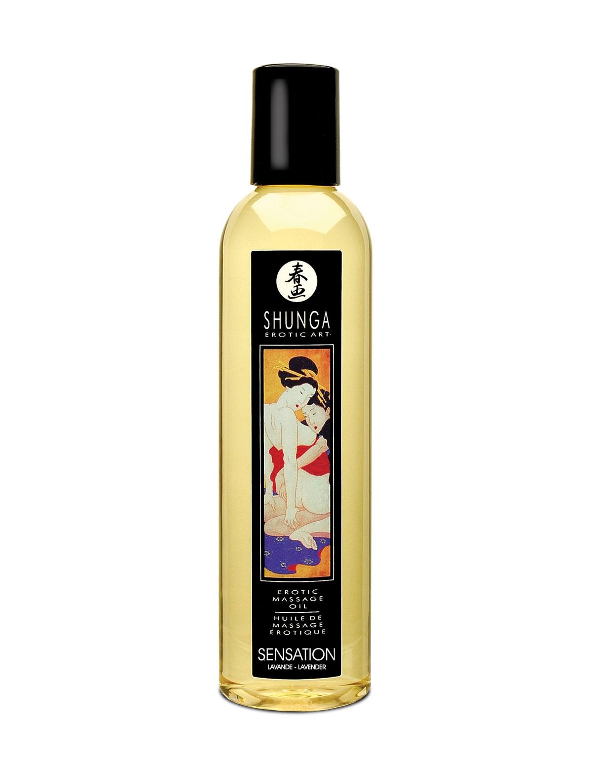 Erotic Massage Oil Sensation Lavender