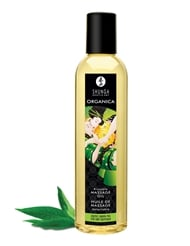ORGANICA KISSABLE MASSAGE OIL EXOTIC GREEN TEA