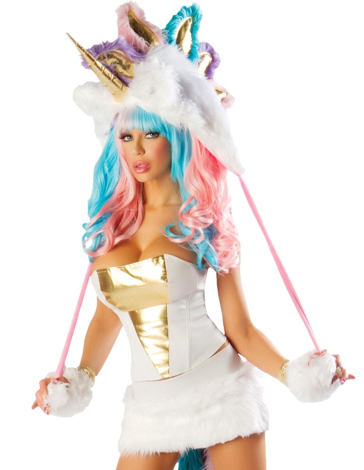 5Pc Fantasy Unicorn Costume