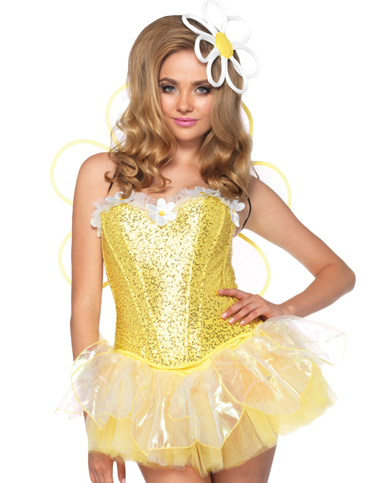 4Pc Daisy Doll Costume