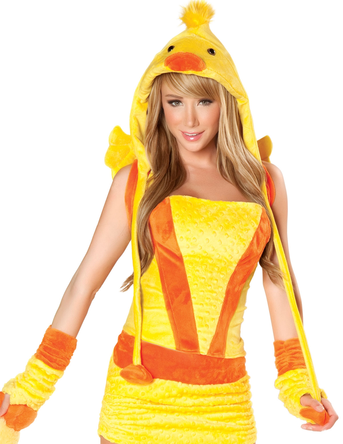 5Pc Rubber Ducky Costume