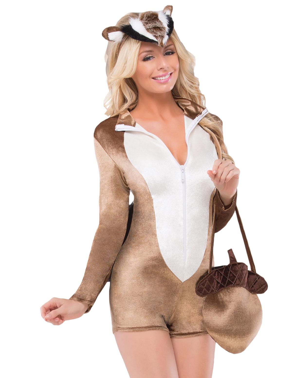 4Pc Chipmunk Cutie Costume