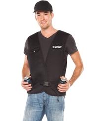 2PC SWAT GUY COSTUME KIT