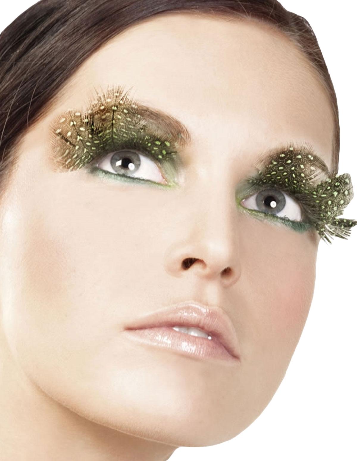 Brown/Green Eyelashes