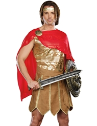 Alternate front view of CEASAR COSTUME